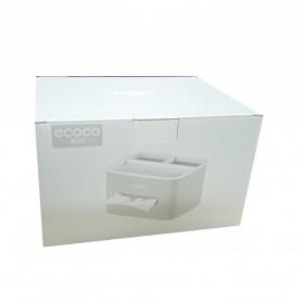 ECOCO Storage Box Kotak Penyimpanan Office Desk Case Organizer - E1602 - Gray - 11