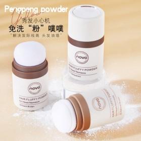 NOVO Hair Powder Bedak Rambut Pria Natural No.02 Natural Brown - 3
