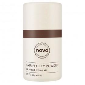 NOVO Hair Powder Bedak Rambut Pria Natural No.02 Natural Brown - 5