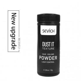 Sevich Hair Powder Dust It Hairstyling Texture Mattifying Fluff Powder 8g - Black - 5