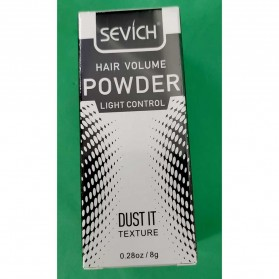 Sevich Hair Powder Dust It Hairstyling Texture Mattifying Fluff Powder 8g - Black - 7