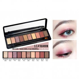 NOVO Fashion Eye Shadow Novo 10 Warna - No.11 - Multi-Color