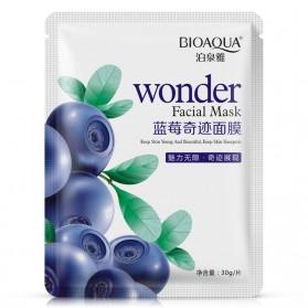 Bioaqua Blueberry Qin Xuefu Silk Mask 30g