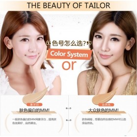 Bioaqua Brightening Liquid BB Air Cushion Makeup 15g - Natural - 5