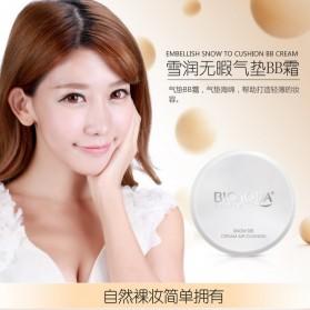 Bioaqua One Spring Brightening Liquid BB Air Cushion Makeup 15g - White - 2