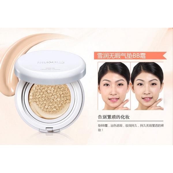 Bioaqua Brightening Liquid Bb Air Cushion Makeup 15g White Jakartanotebook Com