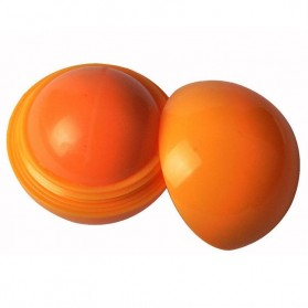 Natural Fruit Lip Balm Ball - Orange