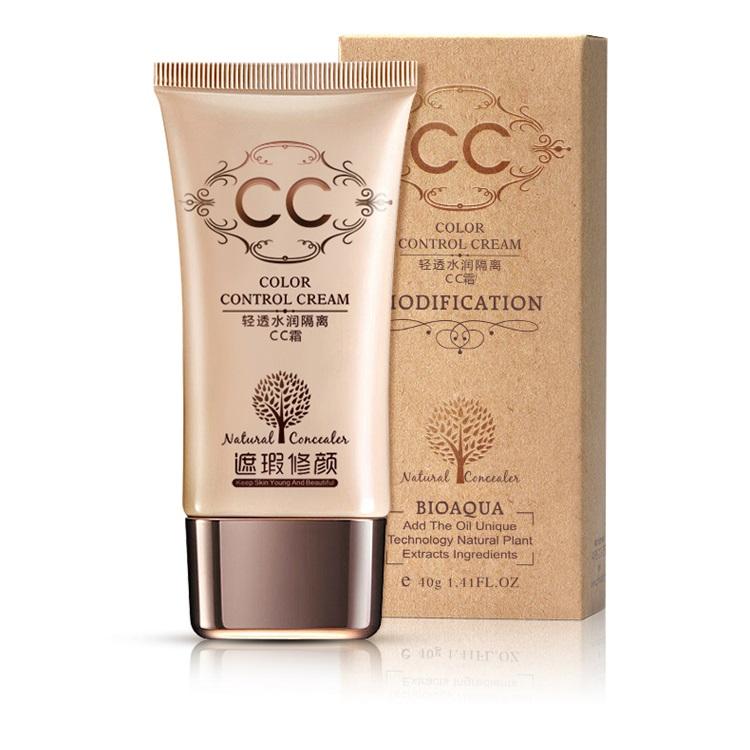 ... Bioaqua CC Cream BB Cream Natural Moisturizing 40g - Ivory White - 1 ...