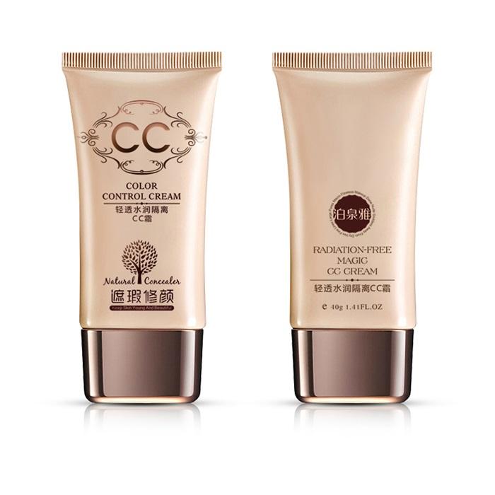 ... Bioaqua CC Cream BB Cream Natural Moisturizing 40g - Ivory White - 6 ...
