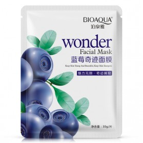 Bioaqua Blueberry Tender and Moisturizing Silk Mask 30g