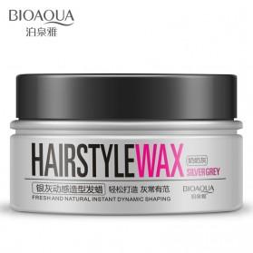 Bioaqua Wax Rambut Hairstyle Shaping Warna Silver Gray 100g - Gray - 2