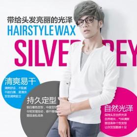 Bioaqua Wax Rambut Hairstyle Shaping Warna Silver Gray 100g - Gray - 3