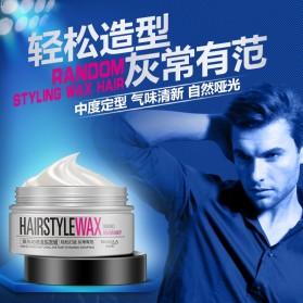 Bioaqua Wax Rambut Hairstyle Shaping Warna Silver Gray 100g - Gray - 5