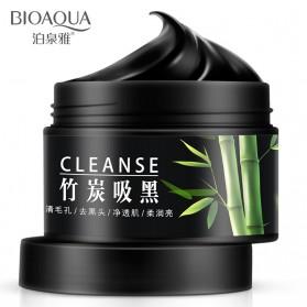 Bioaqua Masker Wajah Bamboo Charcoal 140g - Black