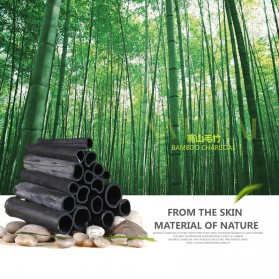 Bioaqua Masker Wajah Bamboo Charcoal 140g - Black - 3