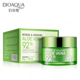 Bioaqua Serum Krim Wajah Aloe Vera Moisturizing 50g - 2