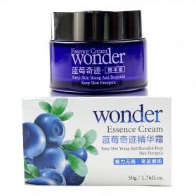Bioaqua Wonder Serum Krim Wajah Blueberry 50g - Purple - 2