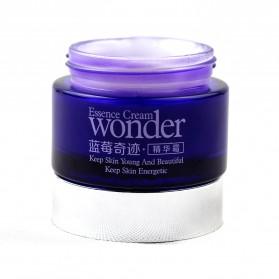 Bioaqua Wonder Serum Krim Wajah Blueberry 50g - Purple - 5