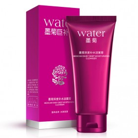 Bioaqua Sabun Cuci Muka Moju Water Mexican Daisy Depth Hydra Whitening Cleanser 100g - Red - 2
