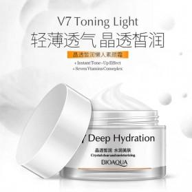 Bioaqua Krim Pemutih Wajah V7 Toning Light Deep Hydration 50g - White - 5