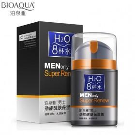 Bioaqua Sabun Cuci Muka Pria H2O Oil Control 50g - Black
