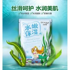 Bioaqua Masker Wajah Natural Extract 30g - Light Blue