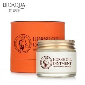 Bioaqua Krim Wajah Horse Oil Anti Aging 70g - White