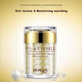 Bioaqua Krim Wajah Pure Pearl Anti Aging 60g - Golden - 2