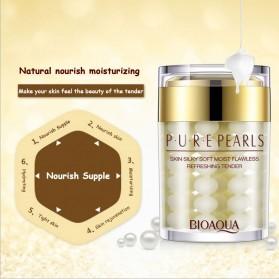 Bioaqua Krim Wajah Pure Pearl Anti Aging 60g - Golden - 4