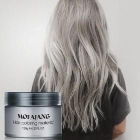 Mofajang Pomade Wax Rambut Warna 120g - Gray