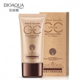 Bioaqua CC Cream Hydra Foundation Cream Radiation Free 40g - Ivory White