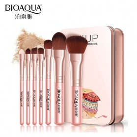 BIOAQUA Make Up Brush 7 PCS - BQY8238 - Pink