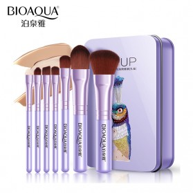 BIOAQUA Make Up Brush 7 PCS - BQY8238 - Purple