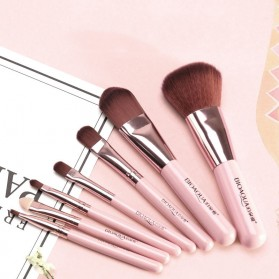 BIOAQUA Make Up Brush 7 PCS - BQY8238 - Purple - 2