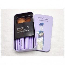 BIOAQUA Make Up Brush 7 PCS - BQY8238 - Purple - 8