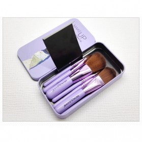 BIOAQUA Make Up Brush 7 PCS - BQY8238 - Purple - 9