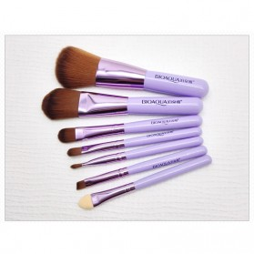 BIOAQUA Make Up Brush 7 PCS - BQY8238 - Purple - 10