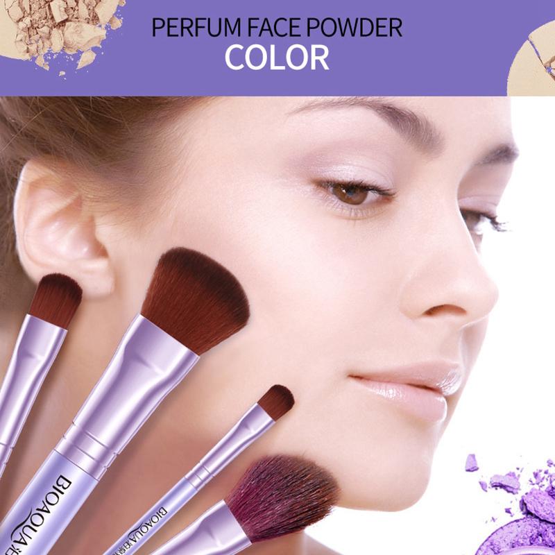 BIOAQUA Make Up Brush 7 PCS - BQY8238 - Purple ...