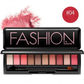 BIOAQUA Eye Shadow 10 Warna - No.4 - Pink
