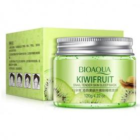 Bioaqua Masker Wajah Snail Kiwi Fruit Blackhead Remover 120g - Green