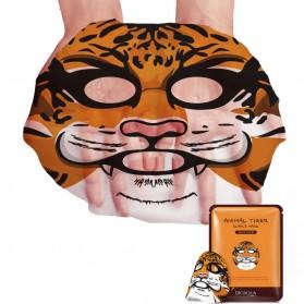 Bioaqua Masker Wajah Cute Skin Care Mask Tiger 1 PCS - YGZWBZ - Orange - 3