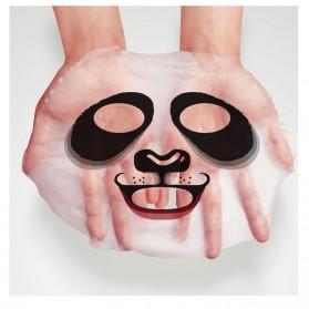 Bioaqua Masker Wajah Cute Skin Care Mask Panda 1 PCS - YGZWBZ - Black - 3