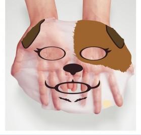 Bioaqua Masker Wajah Cute Skin Care Mask Dog 1 PCS - YGZWBZ - Blue - 3