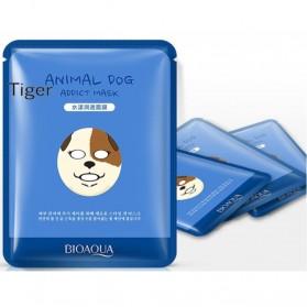Bioaqua Masker Wajah Cute Skin Care Mask Dog 1 PCS - YGZWBZ - Blue - 6