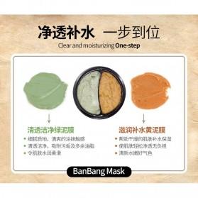 Bioaqua Ban Bang Mask Double Color Facial Care 50g+50g - YGZW - Black - 5