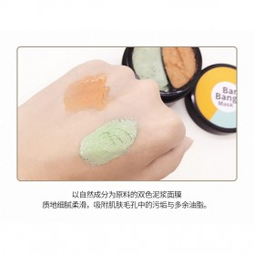 Bioaqua Ban Bang Mask Double Color Facial Care 50g+50g - YGZW - Black - 7