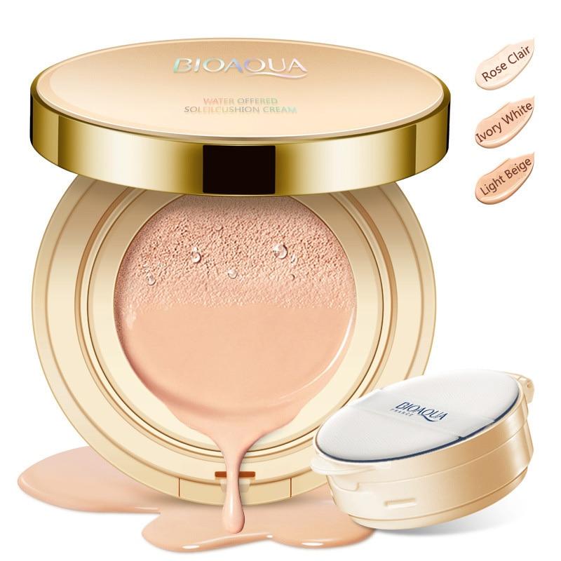 Bioaqua Air Cushion Bb Cream Moisturizing Foundation 15g Rose Clair Cream