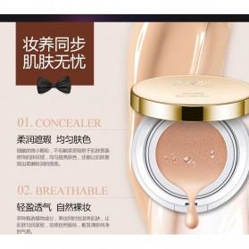 Bioaqua Air Cushion BB Cream Moisturizing Foundation 15g - Light Beige - BQY4211 - Cream - 5