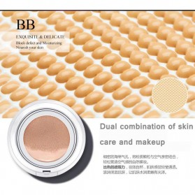 Bioaqua Air Cushion BB Cream Moisturizing Foundation 15g - Light Beige - BQY4211 - Cream - 8