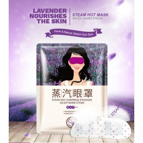 Bioaqua Masker Mata Oil Steam Hot Eyeshade Mask Lavender 1 Pcs - BQY9515 - Purple